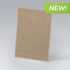 Custom French Paper Invitations