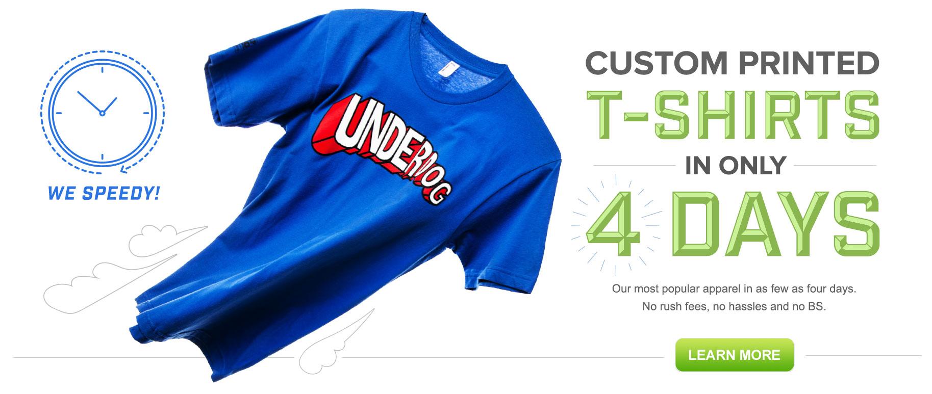 Super Fast T-Shirt Printing