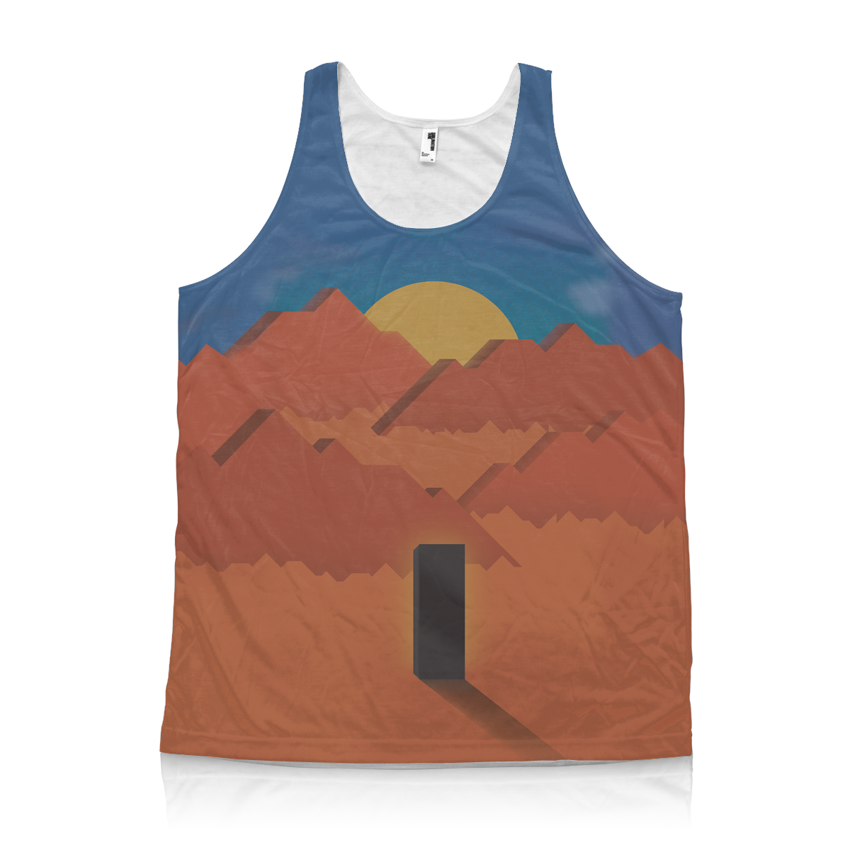 All-Over Printed American Apparel Tank Top
