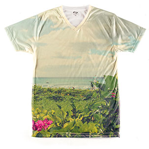 All-Over Printed Men's V-Neck