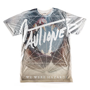 All-Over Printed Men's Slim Crewneck Tee