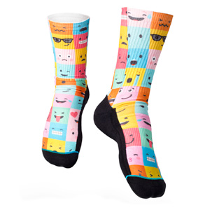 All-Over Printed Socks